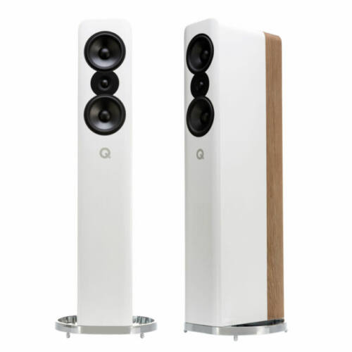Q ACOUSTICS CONCEPT 500 WHITE GLOSS